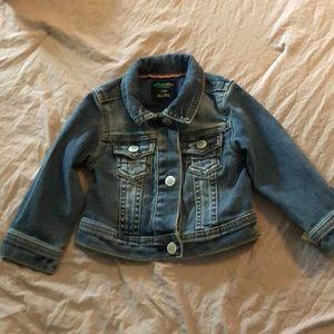 Baby girls jean jacket